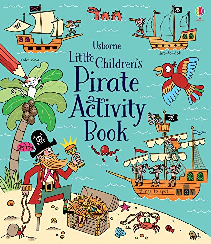 Little Children's Pirate Activity Book - Pirate Activity Pack
