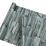 Selbstklebendes Vinyl Faux Stein Ziegel Muster Kontakt Papier dekorativen schälen und Stick Stein Tapete für Wand Dekoration 45 x 1000 cm