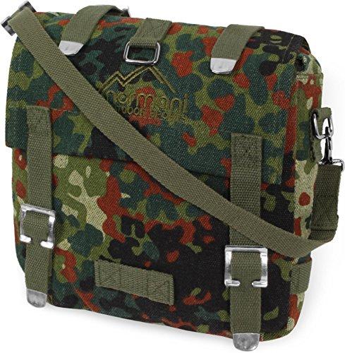 BW Kampftasche Canvas Tasche klein Flecktarn