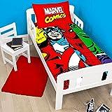 Die besten DC Comics Beddings - Marvel Comics Clash Bettbezug und Kissenbezug-Set für Kinder Bewertungen