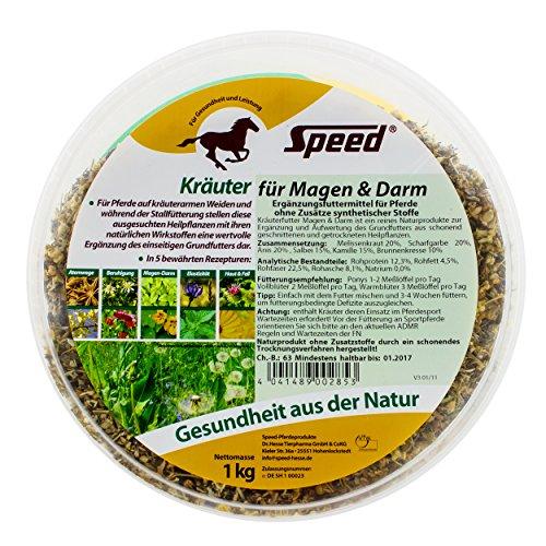 Speed Kräuter für Magen & Darm – Pferdekräuter um die Verdauung anzuregen (1000 g)