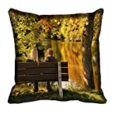 meSleep Nature 60-141 Digitally Printed Cushion Cover (16x16) best price on Amazon @ Rs. 175