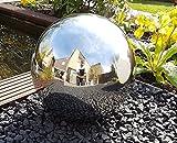 Kugel aus Edelstahl 30 cm poliert Dekokugel Dekorationskugel Edelstahlkugel