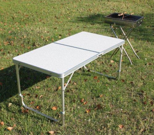 SoBuy® Campingtisch, Klapptisch, Grilltisch, Gartentisch B120xT60cm 8812-2-4