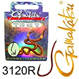 BKS gancho Gamakatsu - 31 x 70 cm 4 - anzuelo duro Gr.