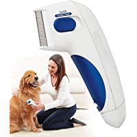 FIOLTY Electric Flea Comb for Dogs, Cat Comb, Pet Comb for Ticks and Flea| Electronic Lice Flea Remover Flea Controller…