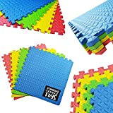 Wholesale Solutions - Foam Interlocking Floor Mats Childrens Kids Play Flooring