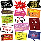 #9: Party Propzfunny Photo Booth Props, (13 Pieces) for Birthday,Anniversary,Wedding, Baby Shower Props