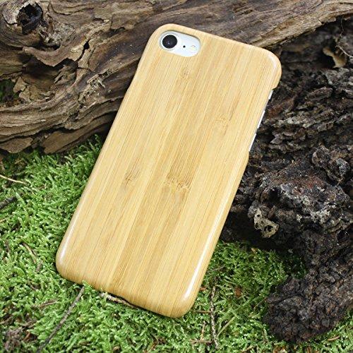 """Stahl-flip-deckel (Iphone 7 /7 Plus Echtholz Schutzhülle Handy Kevlar Extra Dünne Holz Hülle Bumper Hard Case Cover 4.7"""" / 5.5"""