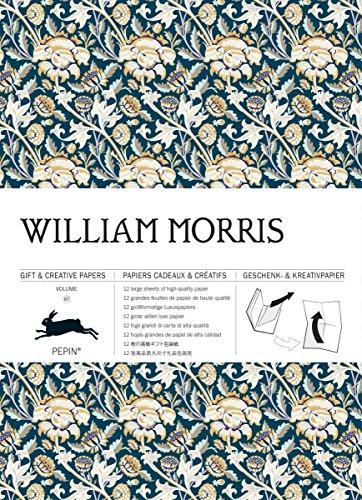 William Morris  #67: Gift wrapping paper book (Giant Artists Colouring Books)