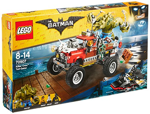 LEGO Batman Killer Croc Tail-Gator Building Toy