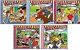 Bibi & Tina - Hörspiel zur Zeichentrick TV-Serie - CD 16-20 im Set - Deutsche Originalware [5 CDs]