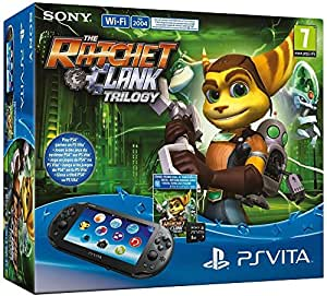 Console Playstation Vita Wifi +  The Ratchet & Clank Trilogy  + Carte Mémoire 8 Go pour PS Vita