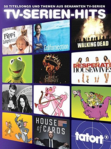 TV-Serien-Hits - 50 Titelsongs und Themen aus bekannten TV-Serien für Klavier, Gesang und Gitarre: Songbook für Klavier, Gesang, Gitarre