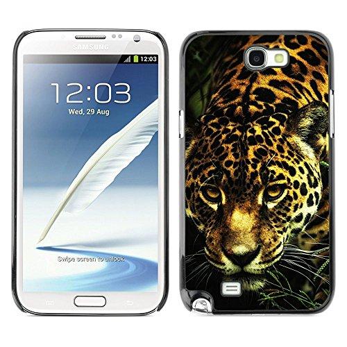 Plastic Shell Protective Case Cover    Samsung Galaxy Note 2 N7100    Big Cat Pattern Fur Animal @XPTECH (Samsung Galaxy Stellar Hard Case)