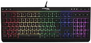 HyperX HX-KB5ME2-FR Alloy Core RGB - Clavier Gaming Membrane (AZERTY)