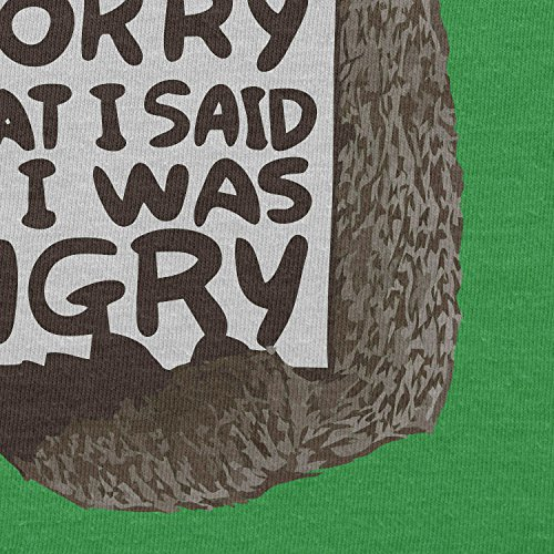 NERDO - I'm sorry for what I said when I was hungry - Herren T-Shirt Grün
