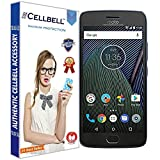 #1: Cellbell Tempered Glass Screen Protector With Free Installation Kit For Motorola Moto G5 Plus