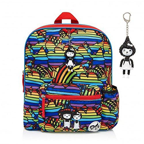 babymel-zainetto-per-bambini-zaino-con-portachiavi-arcobaleno-multi-design-adatto-per-bambini-dai-3-