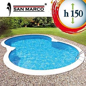 Piscina San Marco da interrare 855x500x150 cm