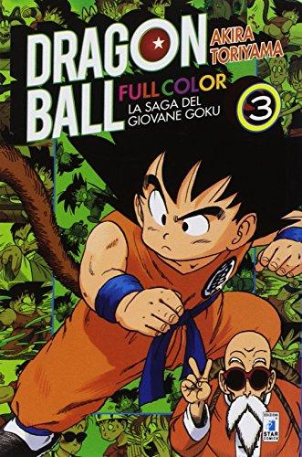 La saga del giovane Goku. Dragon Ball full color: 3