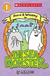 Scholastic Reader Level 1: The Sea Monster: A Steve and Wessley Reader