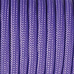 Paracord - Rollo de cordaje (2 mm x 5 m), color morado