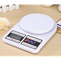 Goopz® Electronic Kitchen Digital Weighing Scale, Multipurpose (White, 10 Kg)