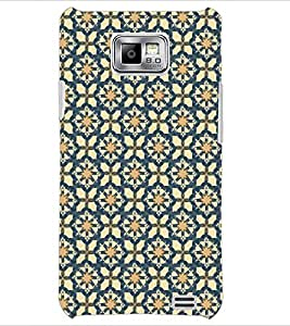 PrintDhaba Pattern D-5355 Back Case Cover for SAMSUNG GALAXY S2 (Multi-Coloured)