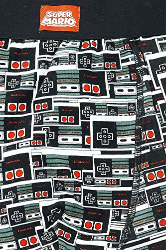 Nintendo Boxershorts -M- Controller all over print - Baumwoll-print-boxer