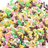 Fanxing Schleim liefert Schleim Squishy duftende Spielwaren Fruchtscheiben Schleim Schlamm Kitt Stress Ton weiche Simulation Spielzeug Stress Relief Spielzeug (D)