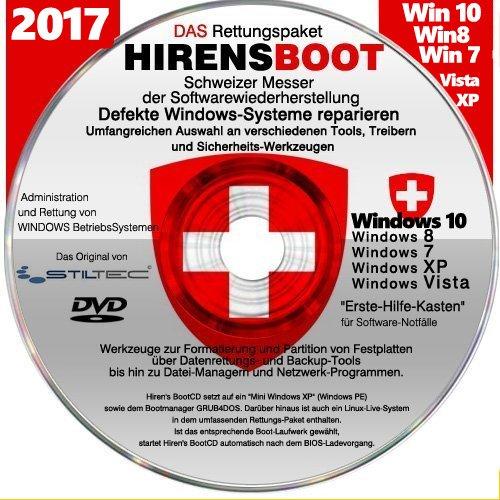 "Preisvergleich Produktbild Notfall-CD für Windows Betriebssysteme Umfangreicher ""Erste Hilfe Koffer an SoftwareTools zur Rettung"""