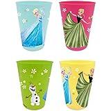 Disney Die Eiskönigin Elsa & Anna Mädchen Plastik Becher - weiß