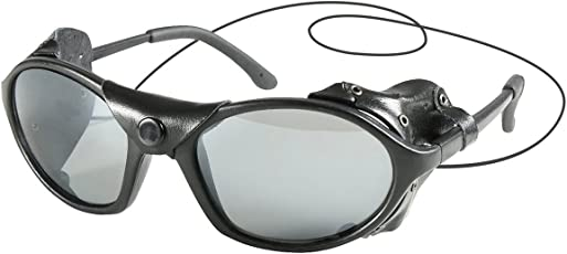 Rothco Tactical Sunglass with Leather Type Wind Guard
