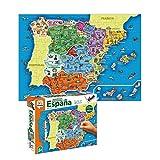Diset Puzzle España Provincias-Autonomías137p Juguete educativos Provincias De España (68942)