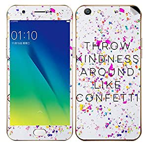 Throw Kidness Mobile Skin/Sticker/Vinyl for Oppo A57