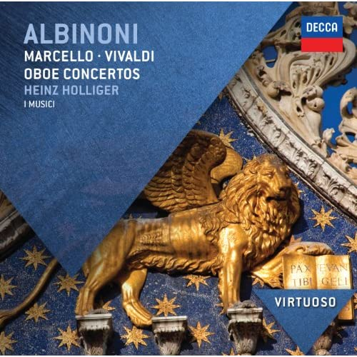 Albinoni: Concerto a 5 in G minor, Op.9, No.8 for Oboe, Strings, and Continuo - 2. Adagio