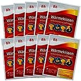 10-er Set Wärmepflaster 8h, Wärmekissen Schmerzpflaster Wärmepads Rückenwärmer Bundle mit Chip von M&H-24