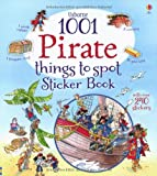 1001 Pirate Things to Spot Sticker Book (1001 Things to Spot Sticker Books)