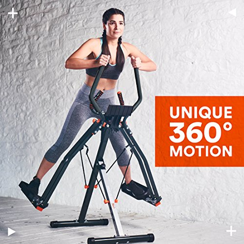 New-Image-Maxi-Glider-360-10-in-1-Cross-Trainer-with-Heart-Rate-Monitor