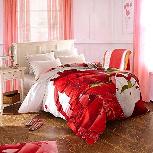 Baumwolle Decke ein Stück Baumwoll Cap Denim quilts Twin-Bettbezug-J 220*240cm(87x94inch) (Twin-denim-bettwäsche)