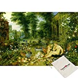 B&N bien, Allegory of sight–Jan Bruegel–puzzle da 500pezzi [in dotazione]