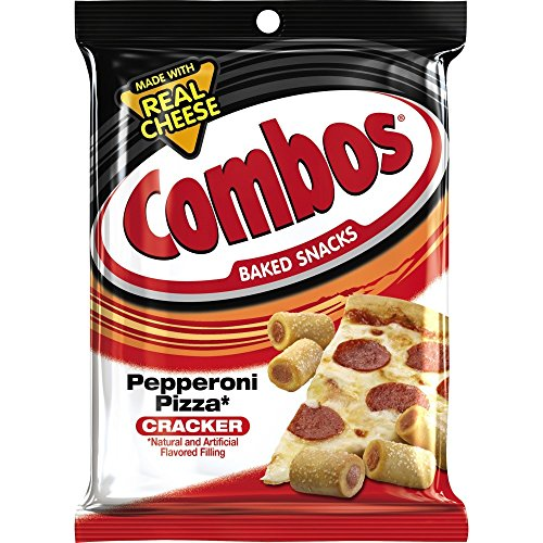Combos Pepperoni Pizza Cracker Baked Snacks 178.6 g