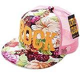Belsen Mädchen ROCK Blume Baseball Kappen Mesh Cap Truckers Hat