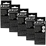 5er Pack Krups XS 3000 Reinigungstabletten (10 x 1,5 gramm)