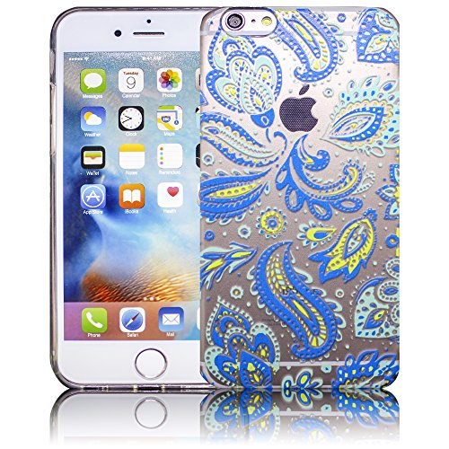 Apple iPhone 6 Plus / iPhone 6S Plus - Design 11 Silikon Crystal Kristall clear transparent durchsichtig Schutz-Hülle Hülle weiche Tasche Cover Case Bumper Etui Flip smartphone handy backcover Schutzh Design 3