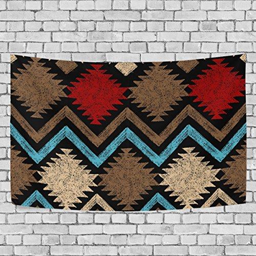 jstel Vintage Afrikanische Kunst Wandteppich für Dekoration für Wohnung Home Decor Wohnzimmer Tisch Überwurf Tagesdecke Wohnheim 152,4x 101,6cm, Textil, multi, 80x60 inch - Afrikanische Wohnzimmer Tisch