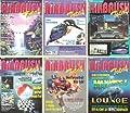 AIRBRUSH-Total - Das Magazin für die Spritzpistole - Deutschlands einzigstes Airbrush-Magazin 1994, 6 Hefte (1/94, 2/94, 3/94, 4/94, 5/94, 6/94) KOMPLETTER JAHRGANG 1994 von HCM-Verlags GmbH bei TapetenShop
