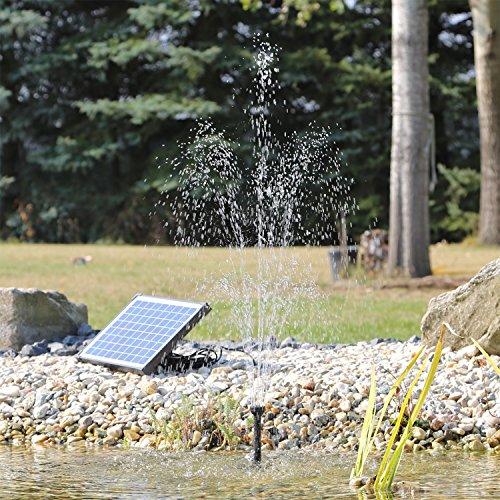 CLGarden Solar Pumpe Springbrunnen SP-S4 - 2