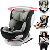 Siège auto isofix SEATY 360° groupe 0+/1/2/3 (0-36kg), évolutif et grand confort - Safety Baby